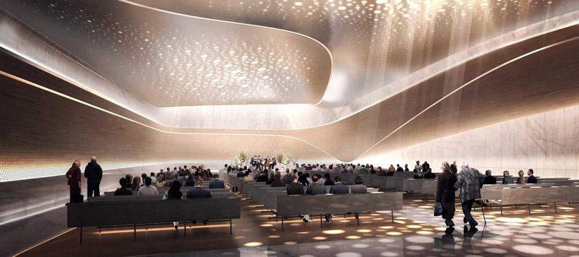 荷兰beukenhof音乐馆兼殡仪馆设计