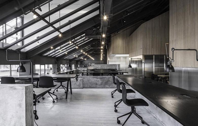 如恩设计新作:flamingo上海创意工作室