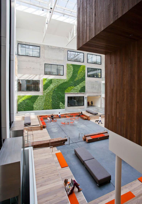 旅游房屋租赁服务网站Airbnb旧金山总部设计
