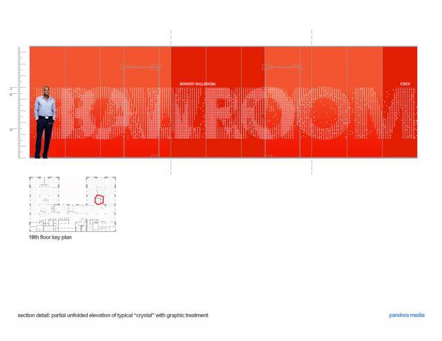 潘多拉媒体公司曼哈顿办公室设计