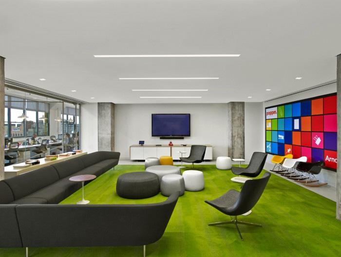 炫动色彩 arnold 国际传媒广告公司纽约办公设计