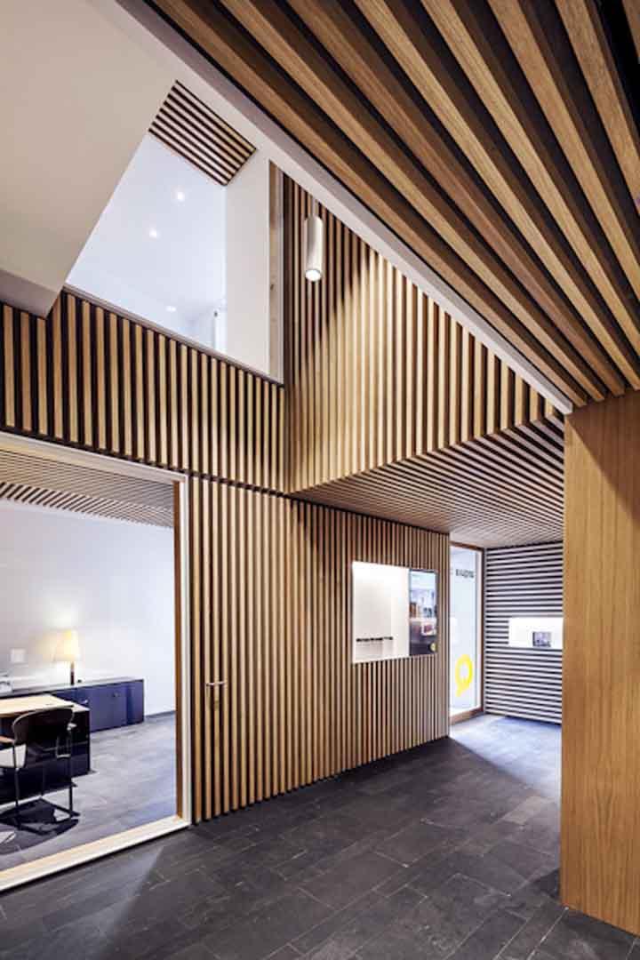 木材材料展示空间
