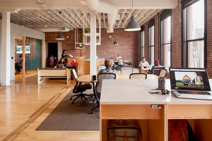 溫情演繹 Airbnb波特蘭辦公空間設計