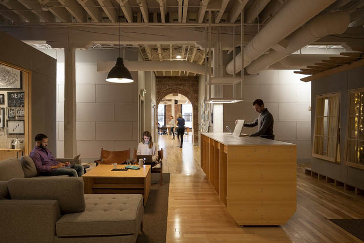 温情演绎 Airbnb波特兰办公空间设计