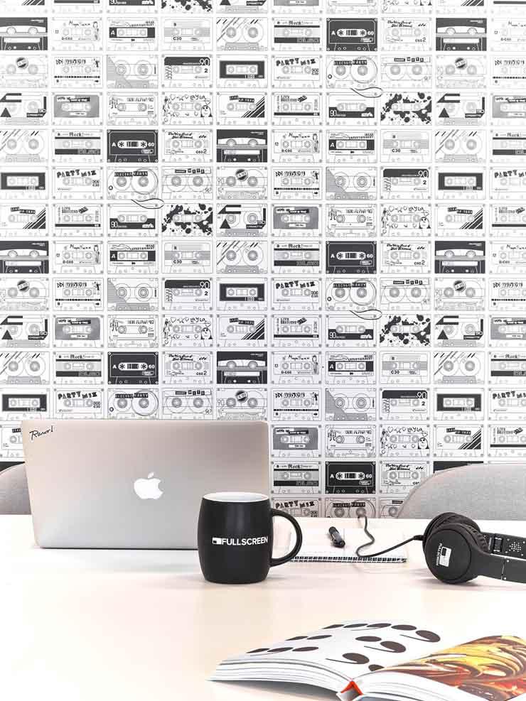 超酷创意 美国Fullscreen总部创意设计欣赏