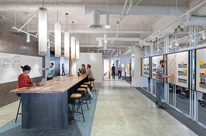 永无止境 Uber旧金山总部十一楼设计欣赏