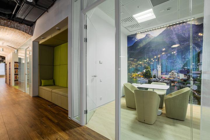 和谐共赢 Booking.com缤客莫斯科办公设计欣赏