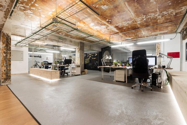 岁月留痕 Iconweb西班牙办公室设计欣赏
