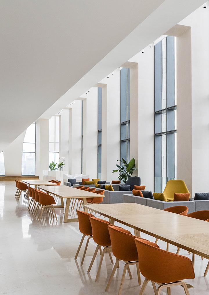 空靈寫意 soho中國外灘辦公室內設計欣賞