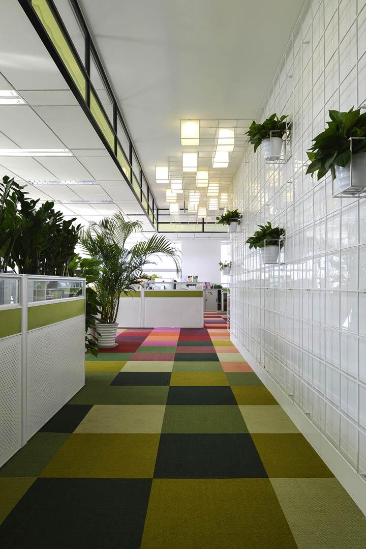 彩色魔方 瑞丽杂志社北京办公设计欣赏
