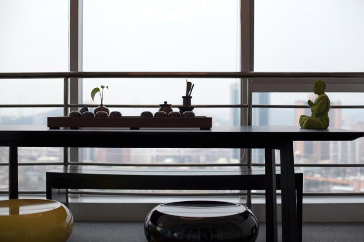 圆·梦 广州悦蒂威服饰办公设计欣赏