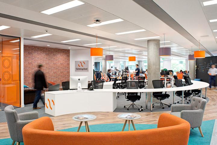 青春灵动 外汇平台Currency Cloud伦敦办公设计欣赏