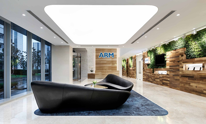 休闲办公新理念 英国ARM公司中国上海总部设计欣赏