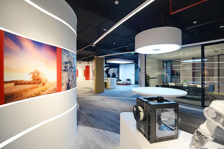 科技人文 美国Gates集团上海办公设计欣赏