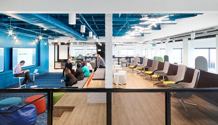 转型进行式 Aviva保险集团多伦多办公设计欣赏
