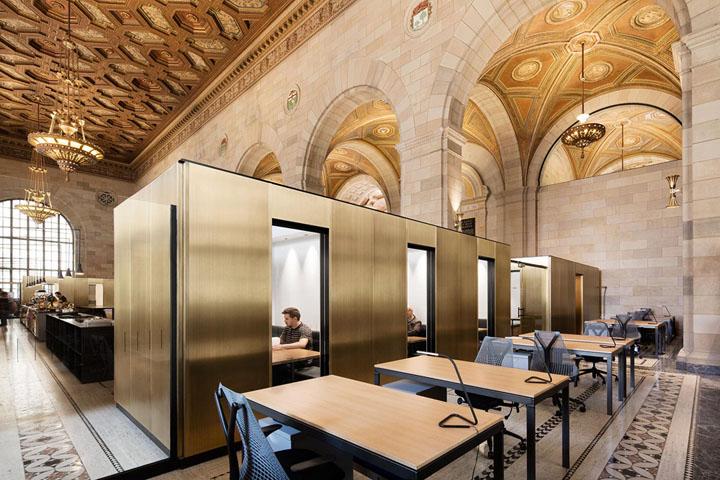 金色摩登 加拿大Crew科技公司办公设计欣赏