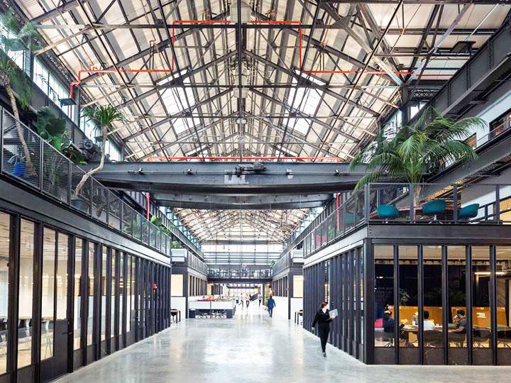 造船厂变形记 New Lab尖端科技产业联合办公设计欣赏