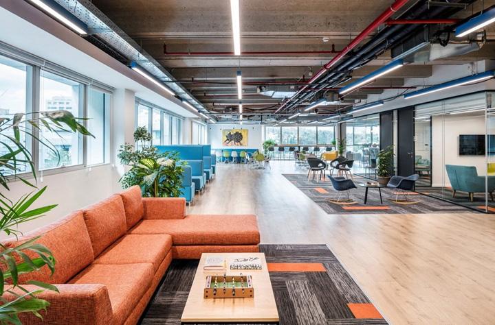 橙色奇迹 数字媒体Intango特拉维夫总部设计欣赏