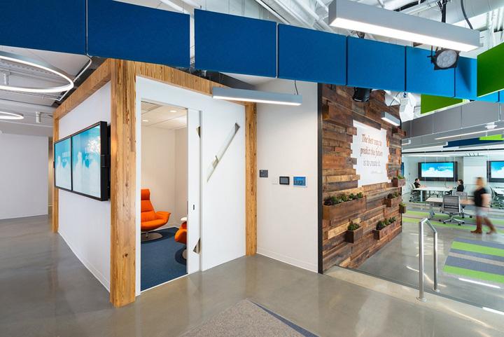 科技创新 国防技术咨询公司BAH创新中心设计欣赏