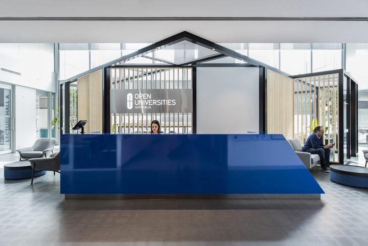 拥抱变革 澳大联盟OUA墨尔本办公设计欣赏