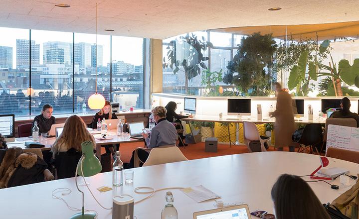 绿野丛中 second home里斯本联合办公空间设计欣赏