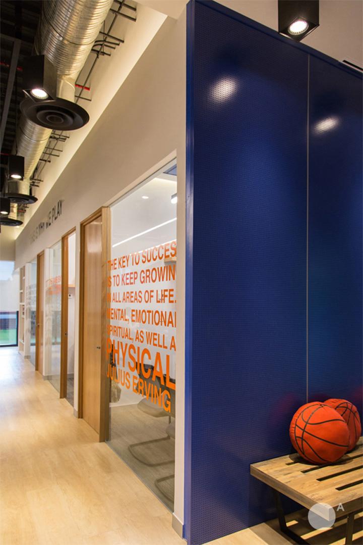 热力篮球 NBA墨西哥城办公设计欣赏