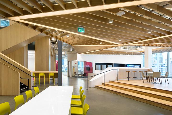 木之森林 旧百货大楼改造的微软加拿大总部设计欣赏