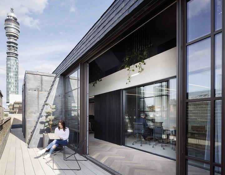 城市之眼 Slack科技公司倫敦辦公設計欣賞
