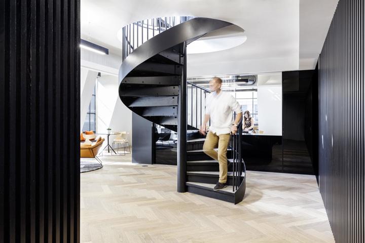 城市之眼 Slack科技公司伦敦办公设计欣赏