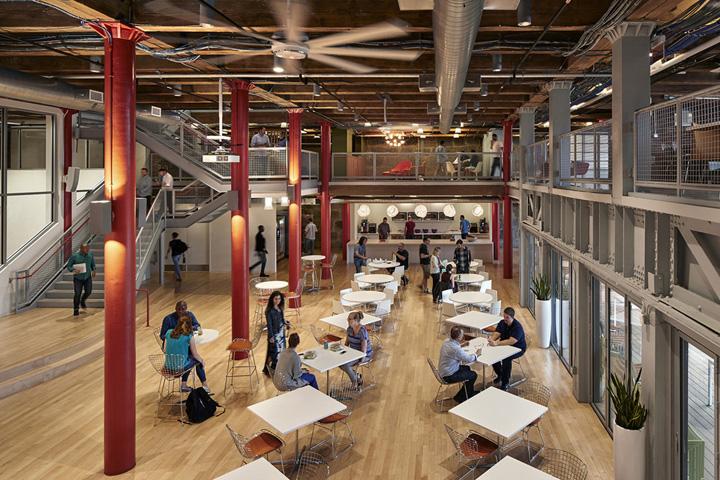砖木之魅 美国LogMeIn波士顿总部扩张设计欣赏