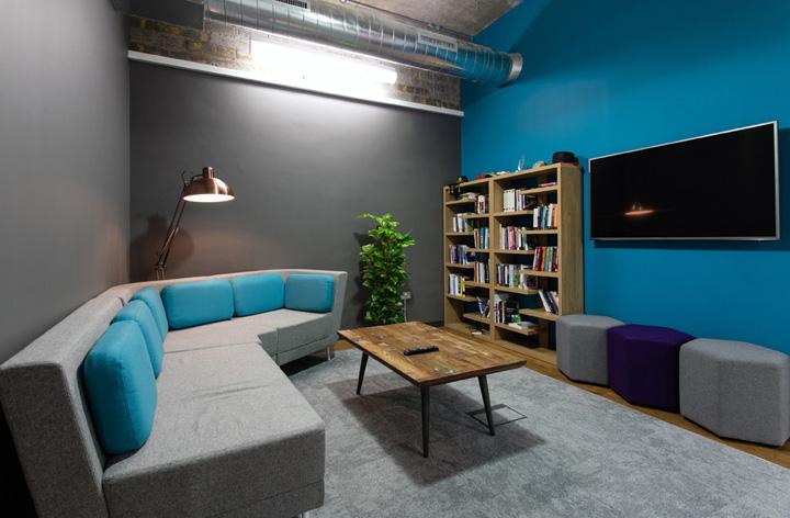多彩空间 英国Gresham布里斯托尔办公设计欣赏