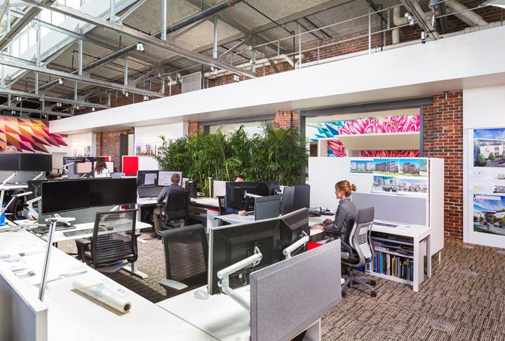 空间探索 美国戴维斯建筑师事务所办公设计欣赏