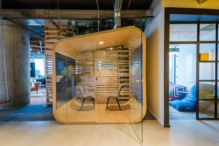 不拘一格 网络安全初创公司Sentinal One以色列办公设计欣赏