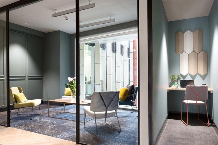 摩登复古 伦敦Landmark服务式办公设计欣赏