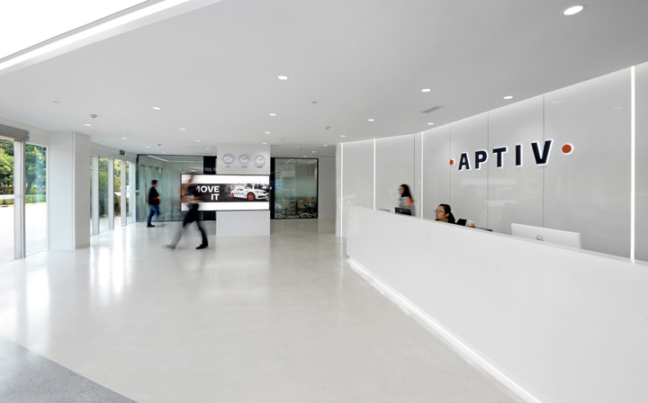 转型与升级 APTIV安波福上海安亭总部设计欣赏