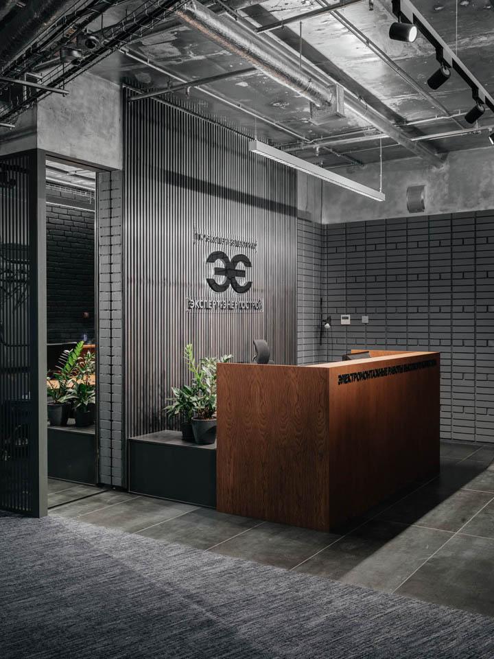 暗调奢华 Expert Electric莫斯科办公设计欣赏