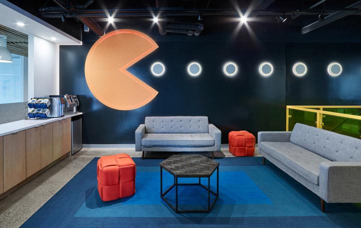 蓝色音符 加拿大软件服务商Nulogy多伦多总部办公设计欣赏