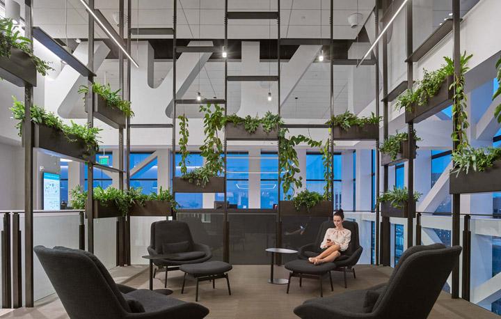 城市之巅 BCG波士顿咨询集团洛杉矶总部设计欣赏