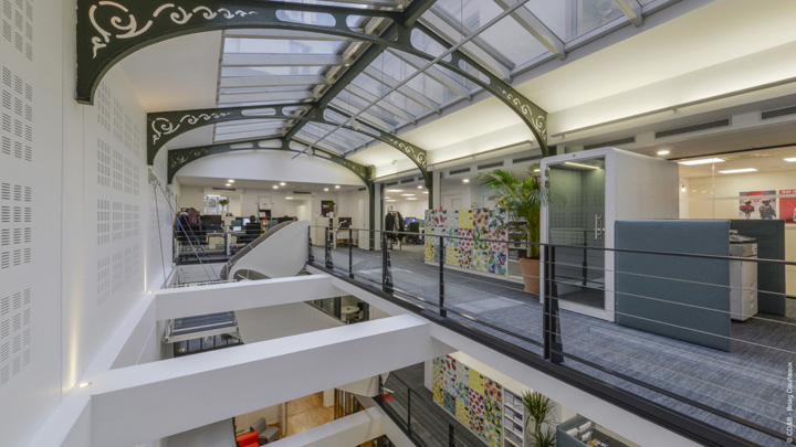 悠然恬淡 法国国际宣传营销机构Sopexa巴黎总部设计欣赏