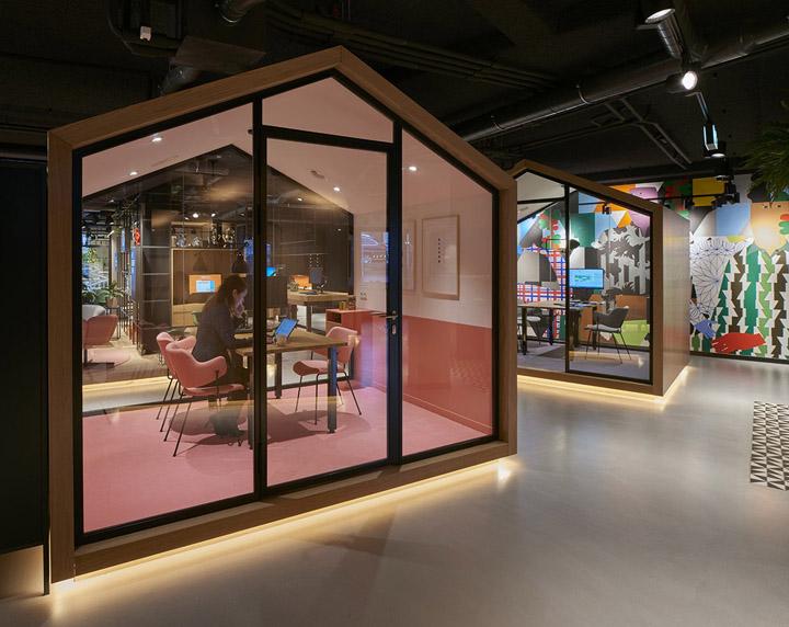 数字变革 荷兰国际集团ING莱瓦顿办公设计欣赏