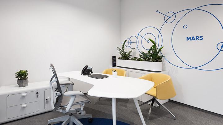 橘树下的创想 DPG创意传播机构莫斯科办公设计欣赏