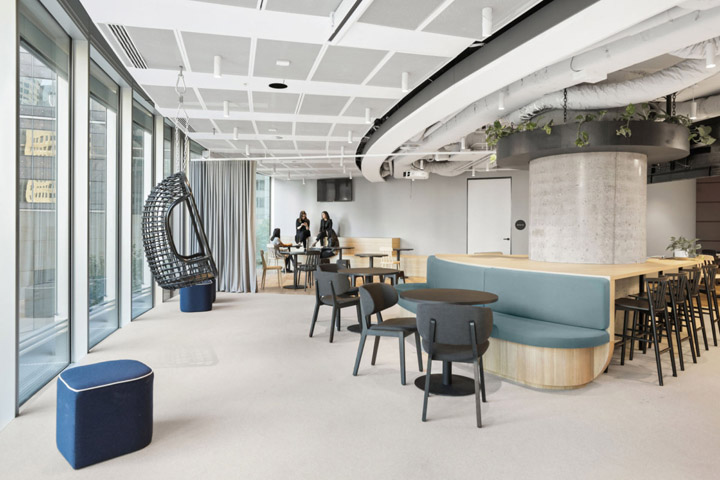 优雅轻奢 企业金融服务商Scottish Pacific悉尼总部设计欣赏