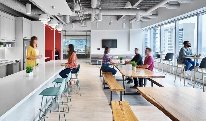 青春焕彩 投资平台Fundserv加拿大多伦多办公设计欣赏