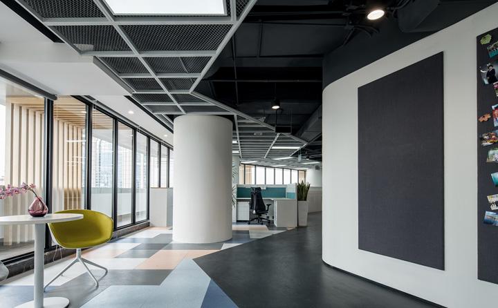 动感时尚 振业集团深圳分公司办公设计欣赏