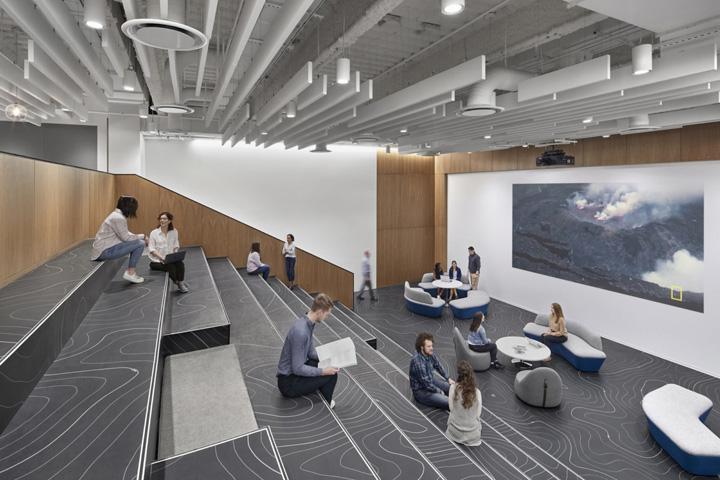 时尚简约 National Geographic国家地理华盛顿总部大楼设计欣赏
