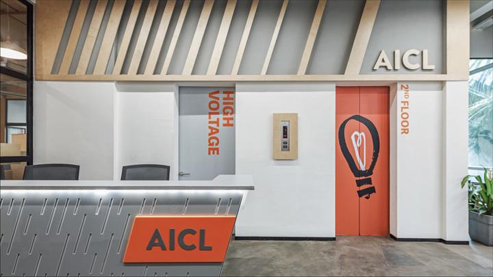 模糊空间 印度通信咨询公司AICL孟买总部办公设计欣赏