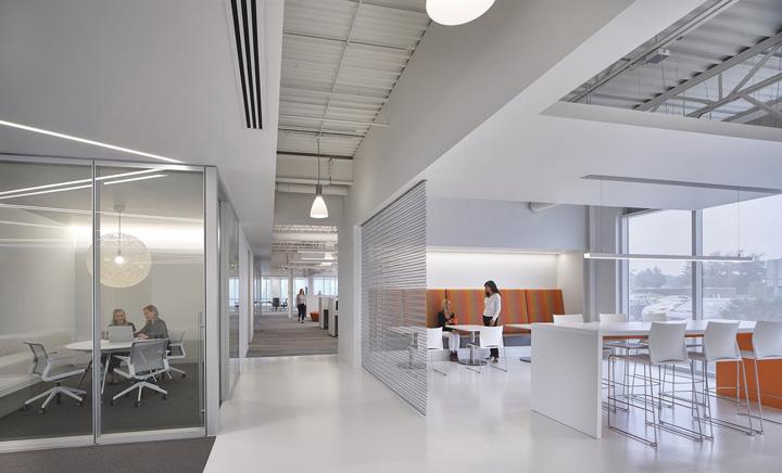 纯白极简 工业制造Process Technology克利夫兰总部设计欣赏