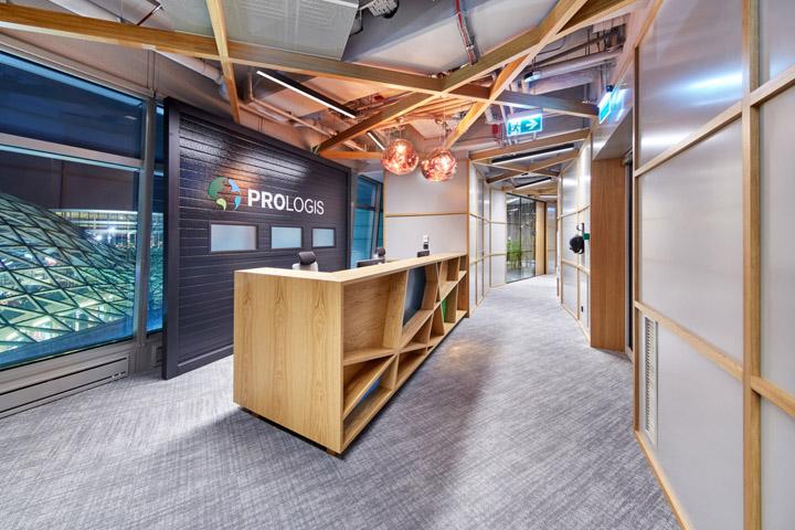 日式美学 全球最大工业REIT公司Prologis华沙办公设计欣赏