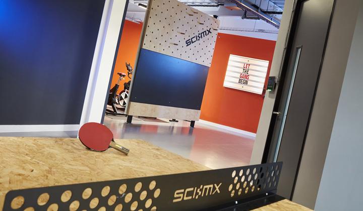 活力动感 运动保健品SCI-MX英国格洛斯特办公设计欣赏