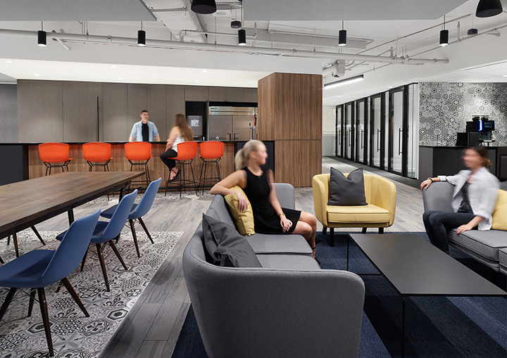 灰调轻奢 商业管理咨询Optimus SBR加拿大多伦多办公设计欣赏